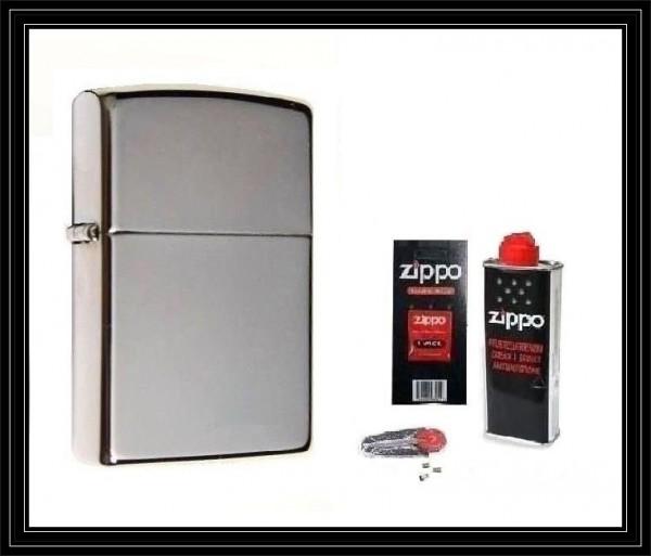 Zippo ® Feuerzeug Black Ice & Zubehör L