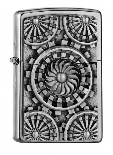 Zippo ® Feuerzeug Turbine Emblem
