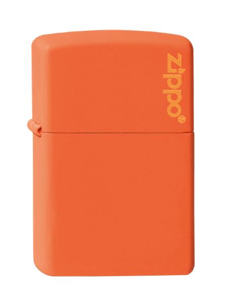Zippo ® Feuerzeug Orange Matte Logo