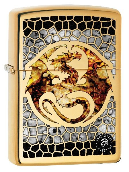 Zippo Feuerzeug Anne Stokes Fusion Dragon