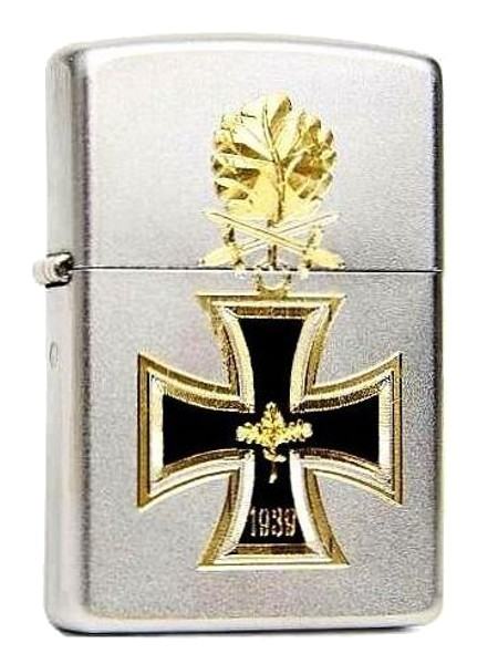 Zippo ® Feuerzeug Eisernes Kreuz 1939 Bicolor Gravur