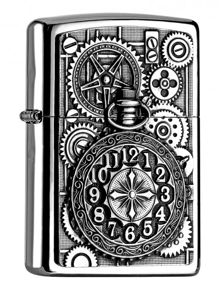 Zippo Pocket Watch Emblem
