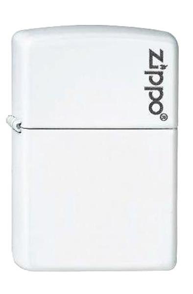 Zippo ® Feuerzeug White Matte Logo