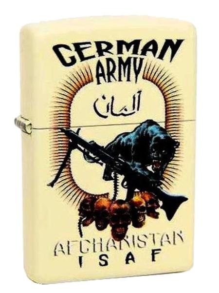 Zippo Bundeswehr ISAF Afghanistan German Army