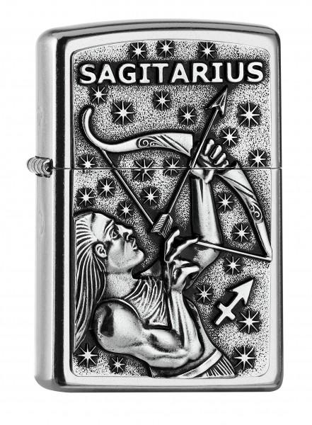 Zippo ® Feuerzeug Sternzeichen Schütze | Sagittarius Emblem