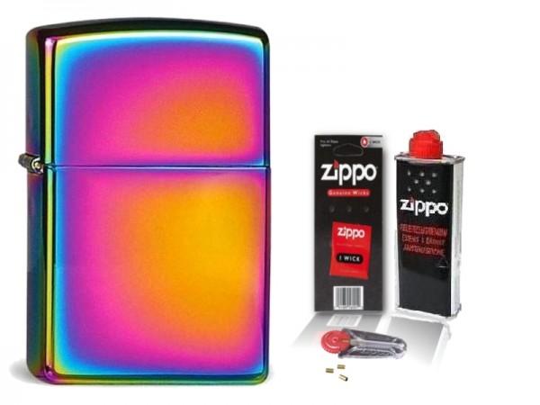 Zippo Feuerzeug Spectrum mit Zubehör L
