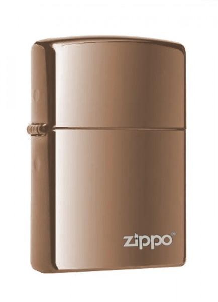 Zippo ® Feuerzeug Black Ice Logo
