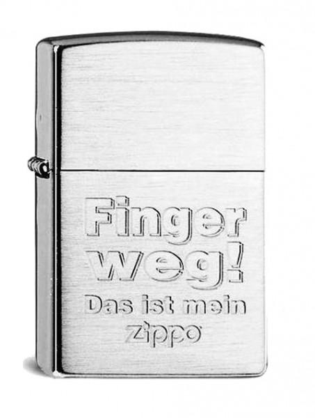 Zippo ® Feuerzeug Finger Weg