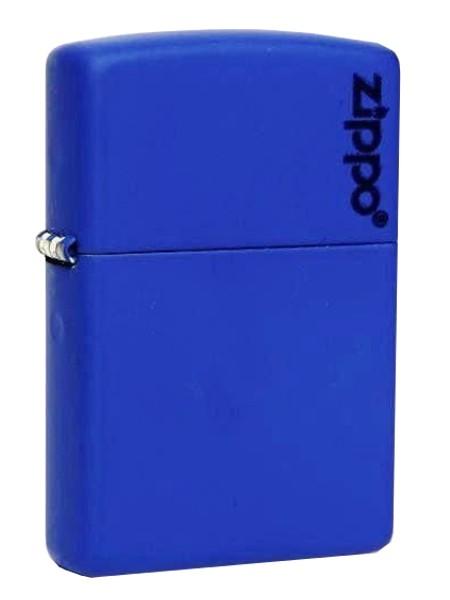 Zippo ® Feuerzeug Royal Blue Matte Logo