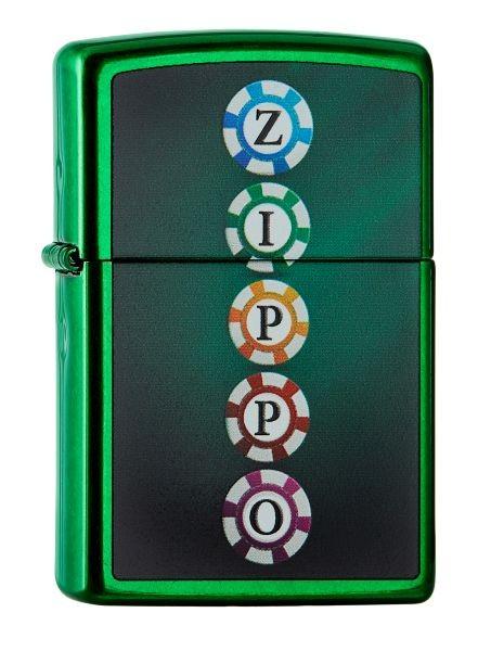 Zippo Feuerzeug Zippo Poker Chips Meadow
