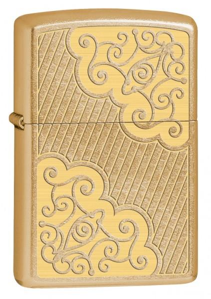 Neu 2017 Zippo ® Feuerzeug Filigree Lines Golden Dusk