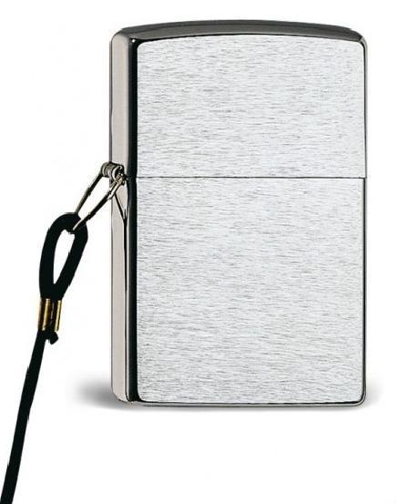 Zippo ® Feuerzeug Lossproof Chrome Brushed