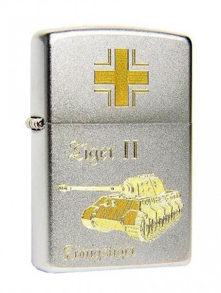 Zippo Feuerzeug Kampfpanzer TIGER II Königstiger
