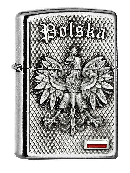 Zippo Feuerzeug Polska Emblem