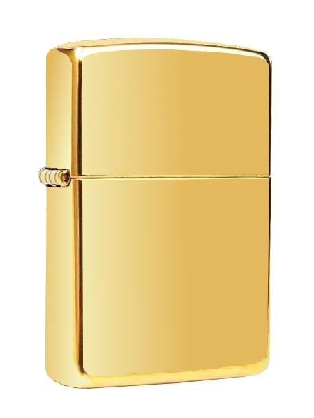 Zippo ® Feuerzeug Brass High Polished