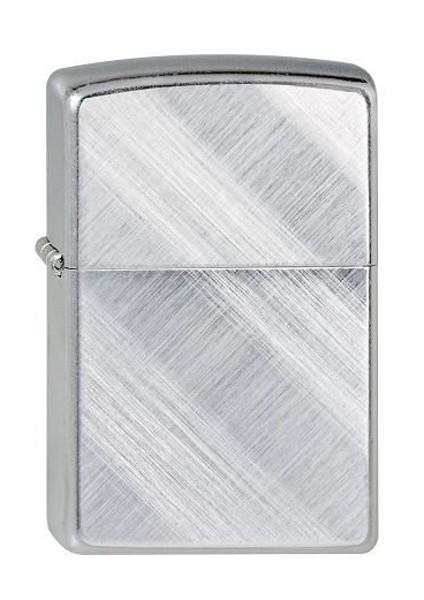 Zippo ® Feuerzeug Chrome Diagonal Weave