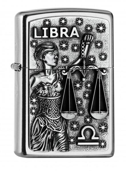 Zippo ® Feuerzeug Sternzeichen Waage | Libra Emblem
