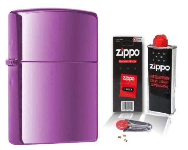 Zippo ® Feuerzeug Abyss mit Zubehör L