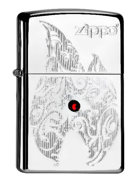 Zippo Feuerzeug Flame With Crystal