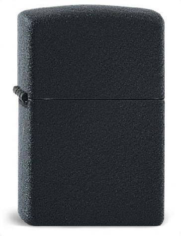 Zippo ® Feuerzeug Black Crackle