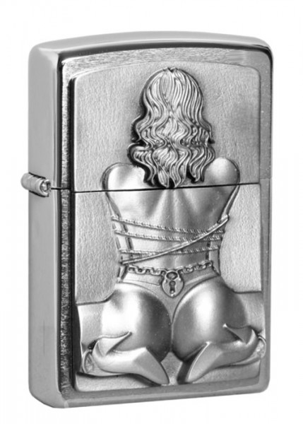 Zippo ® Feuerzeug Bondage Girl Emblem