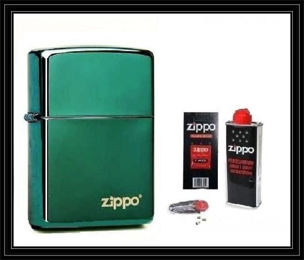Zippo ® Feuerzeug Chameleon Logo & Zubehör L
