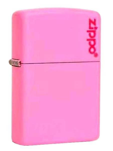 Zippo ® Feuerzeug Pink Matte Logo