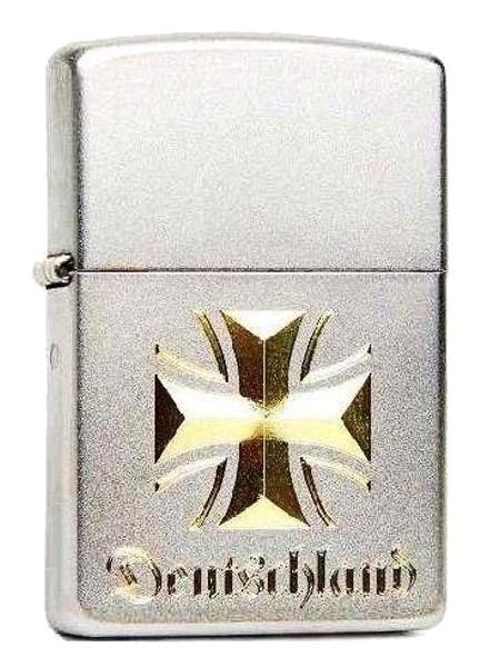 Zippo ® Feuerzeug Eisernes Kreuz Deutschland Gravur