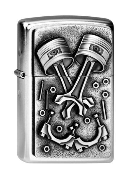 Zippo Feuerzeug Engine Parts Emblem