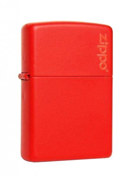 Zippo ® Feuerzeug Red Matte Logo