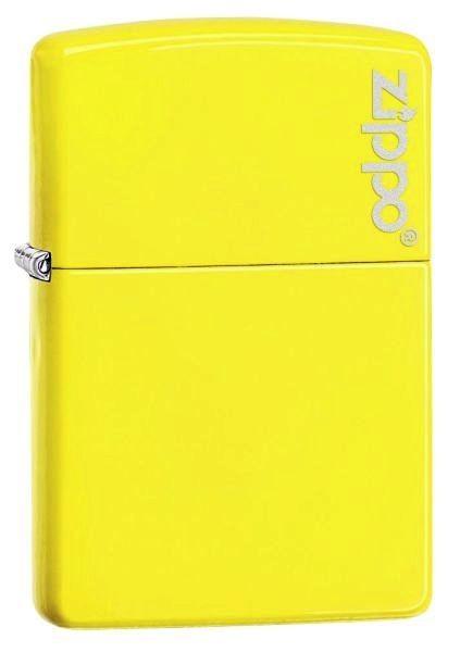 Spring 2016 Zippo ® Feuerzeug Neon Yellow Logo