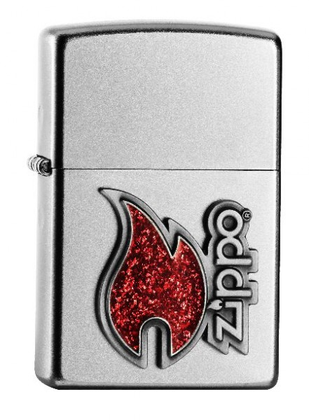 Zippo Feuerzeug Zippo Red Flame Emblem 60000439
