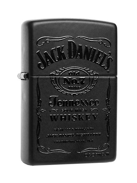 Zippo ® Feuerzeug Jack Daniels Black In Black