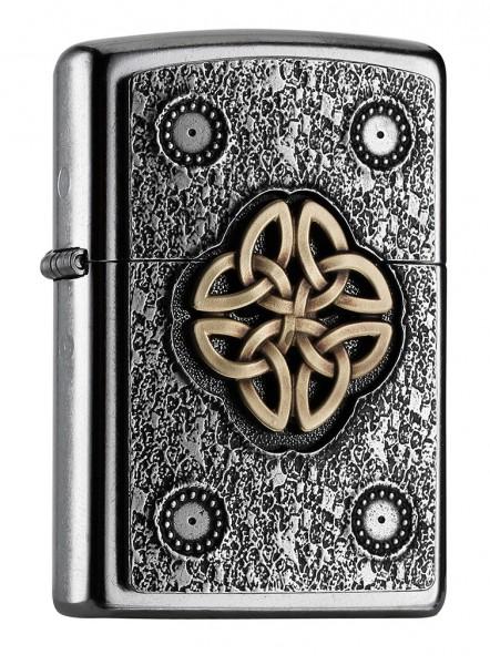 Zippo ® Feuerzeug Celtic Knot Kelten Emblem