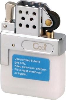 Benzin Feuerzeug Gaseinsatz mit Reibrad