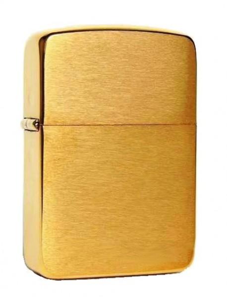 Zippo Feuerzeug Replica 1941 Brass brushed