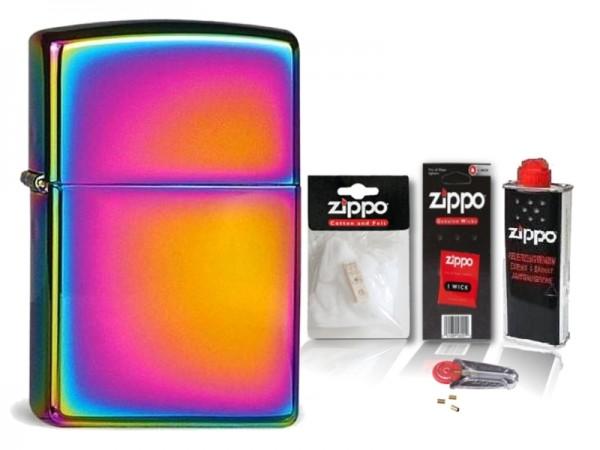 Zippo Feuerzeug Spectrum mit Zubehör XL